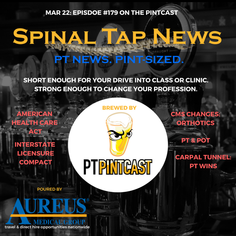 March 22, 2017: Spinal Tap News